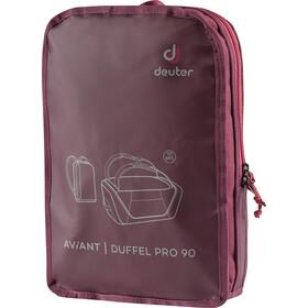 Deuter Aviant Duffel Pro 90, maron/aubergine